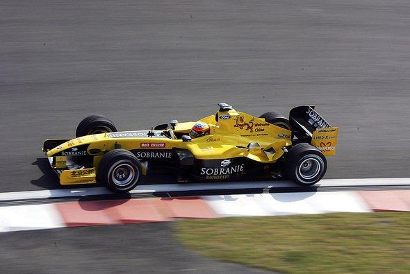 Heidfeld und Pantano fuhren 2004 gemeinsam für Jordan. - Foto: xpb.cc