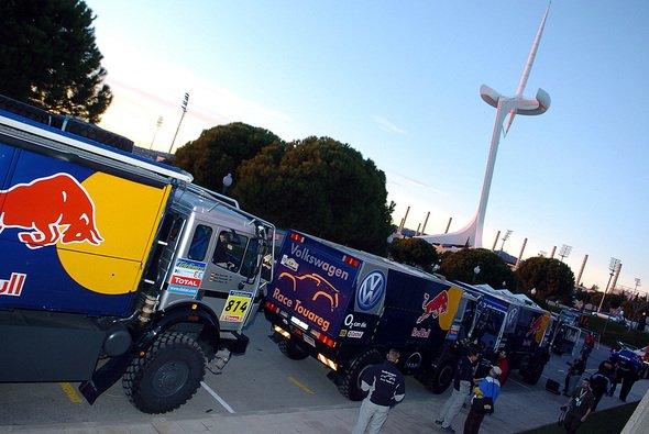 Klaus Leihener fährt einen der VW Race-Trucks. - Foto: VW Motorsport