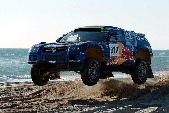 Robby Gordon feiert einen starken Einstand bei VW. - Foto: VW Motorsport