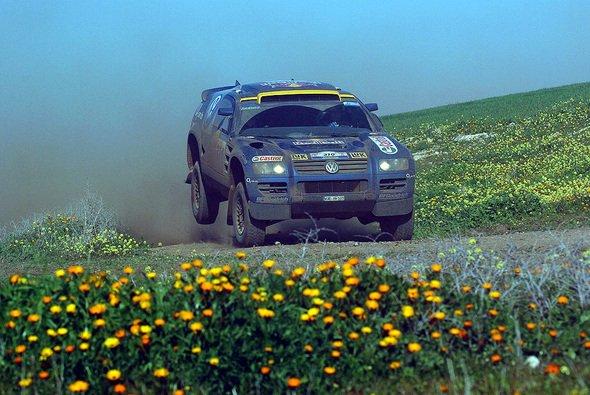 Jutta Kleinschmidt ist derzeit die bestplatzierte VW-Pilotin. - Foto: VW Motorsport