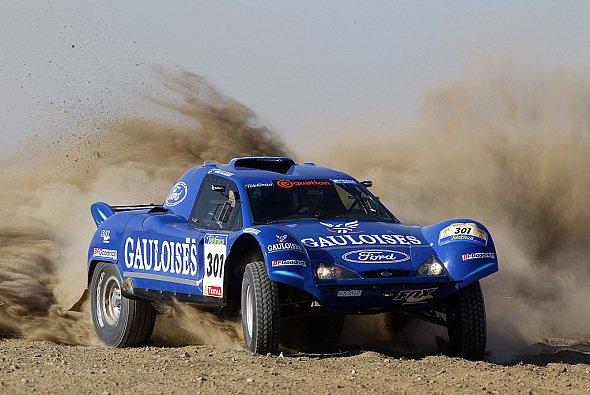 Die fünfte Etappe sah wieder Colin McRae an der Spitze. - Foto: Gauloises Racing