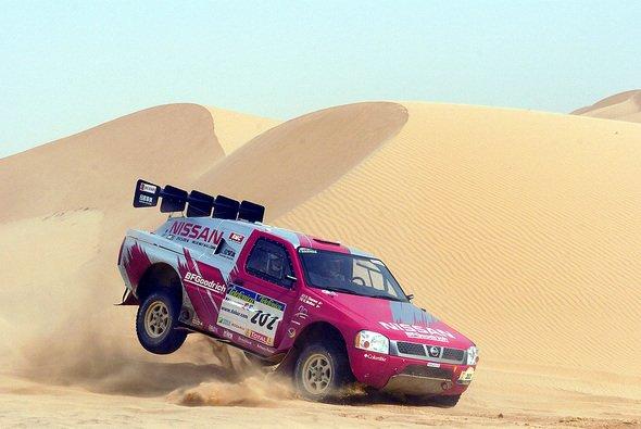 Colin McRaes zweiter Dakar Auftritt endete vorzeitig. - Foto: Nissan