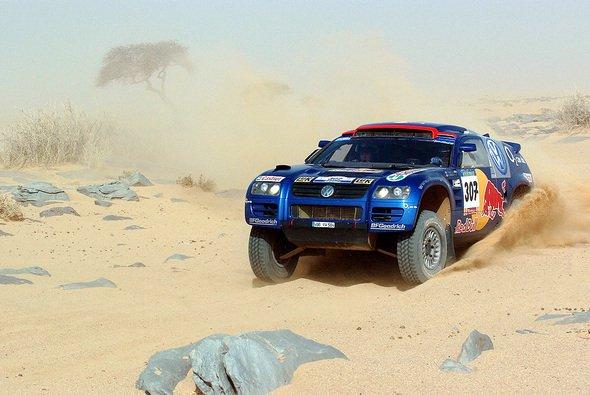 Die Spitzenreiter büßten gestern massiv an Boden ein. - Foto: VW Motorsport