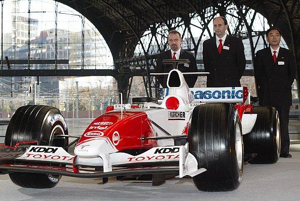 Der TF105 ist das erste Auto der 2005er Generation. - Foto: Toyota