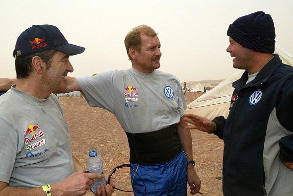 Juha Kankkunen startete für VW bei der Rallye Dakar - Foto: VW Motorsport