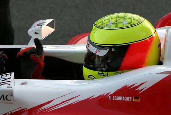 Ralf Schumacher ist nach den ersten beiden Tagen mit dem TF105 sehr zufrieden. - Foto: xpb.cc