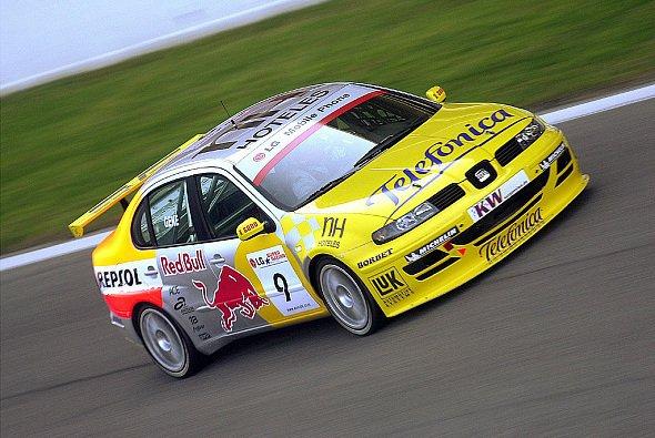 Peter Terting fährt 2005 für Seat. - Foto: Seat
