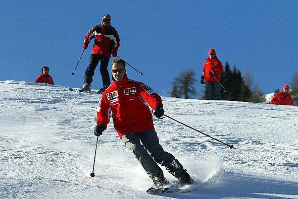 Michael Schumacher fährt seit Jahren regelmäßig Ski - Foto: xpb.cc