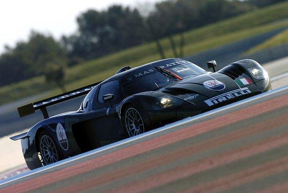 Bertolini begann einen Dreitagestest in Paul Ricard. - Foto: Maserati