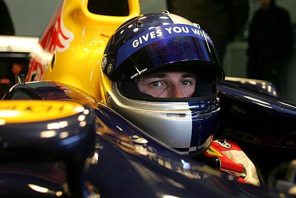 Rechnet mit dem GP-Cockpit - Christian Klien. - Foto: Red Bull Racing