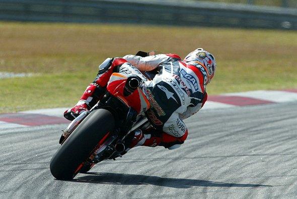 Nicky Hayden war der schnellste Mann am ersten Testtag. - Foto: Honda