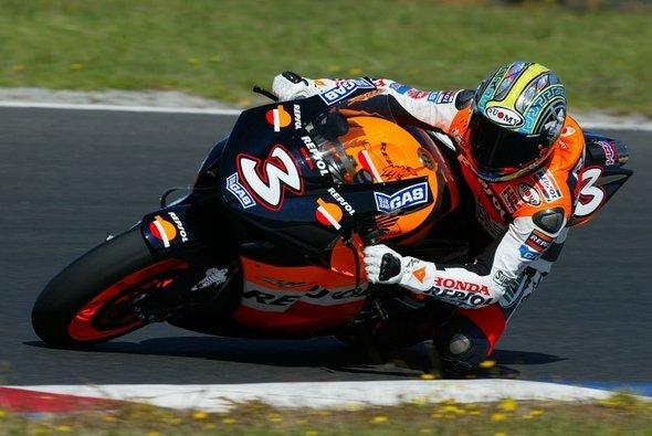 Max Biaggi holte sich die Bestzeit. - Foto: Honda