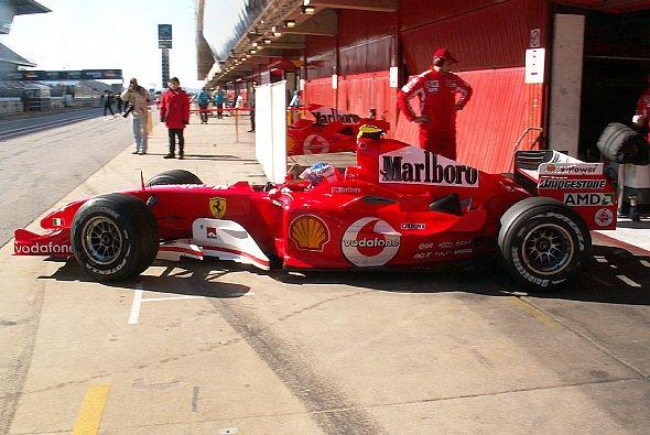 Rubinho peilt den Auftaktsieg für Ferrari an. - Foto: adrivo Sportpresse