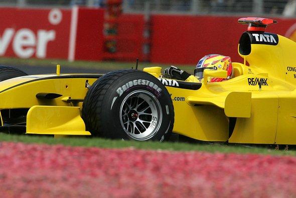 Tiago Monteiro war überraschend schneller als sein Teampartner. - Foto: Bridgestone