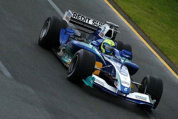 Massa schnitt besser als Villeneuve ab. - Foto: Sauber