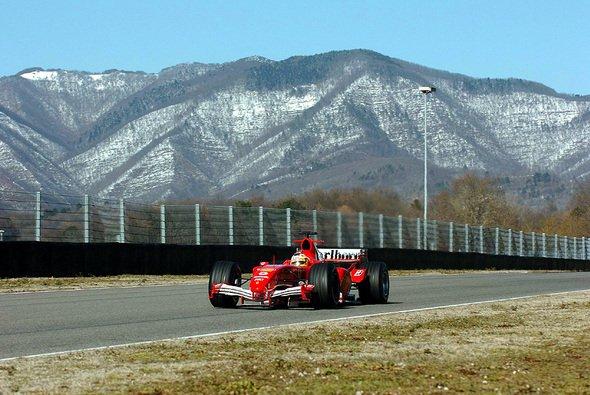 Badoer fuhr heute in Mugello. - Foto: Ferrari Press Office