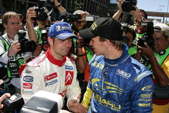 Die Weltmeister der letzten Jahre: Loeb und Solberg. - Foto: xpb.cc
