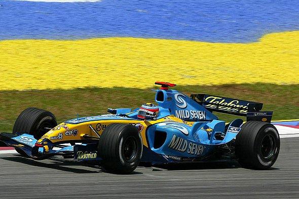Alonso war der Schnellste im 3. Training. - Foto: xpb.cc