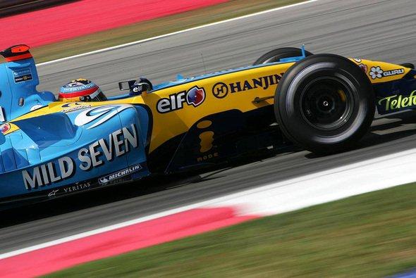 Fernando Alonso hat gute Chancen auf die Pole Position. - Foto: xpb.cc