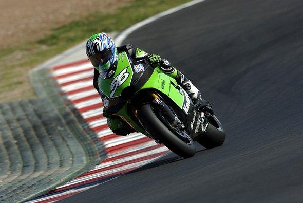 Shinya Nakano drehte die schnellste Runde. - Foto: Kawasaki