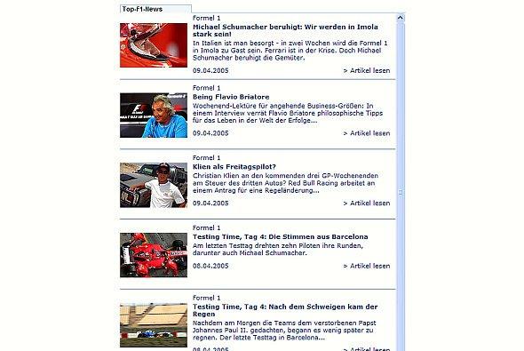 So könnte Ihre neue adrivo.com Newsbox aussehen! - Foto: adrivo Sportpresse
