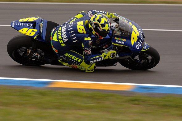 Rossi steht auf Platz 1. - Foto: Gauloises Racing