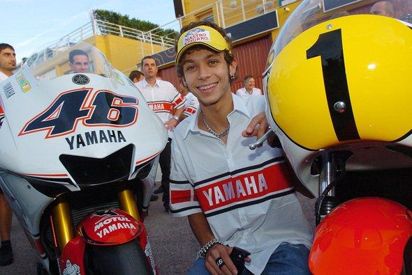 Valentino Rossi ist einer der ganz Großen seiner Zunft - Foto: Gauloises Racing