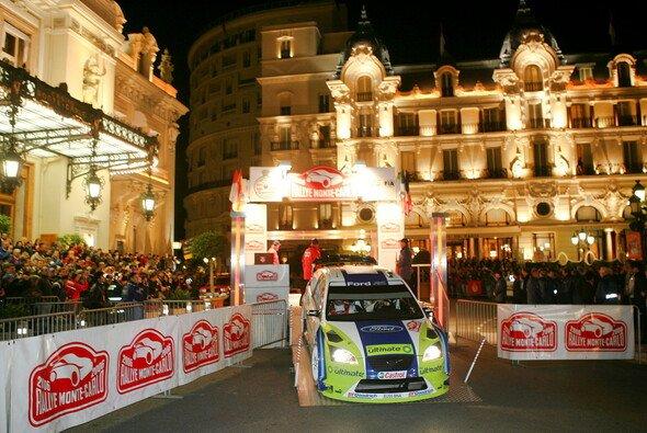 Nächstes Wochenende findet die Rallye Monte Carlo statt.