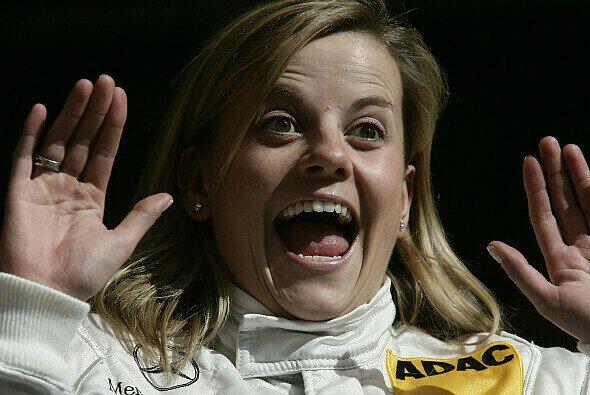 Susie Stoddart möchte einen Sieg bejubeln.