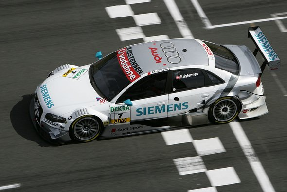 Tom Kristensen fuhr souverän zum ersten Saisonsieg. - Foto: DTM
