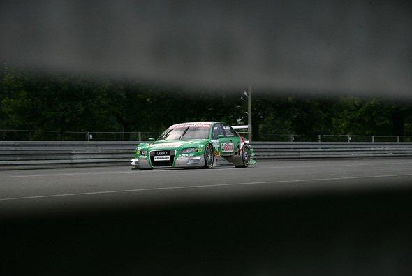 Pierre Kaffer fuhr seinen ersten Punkt ein. - Foto: Audi