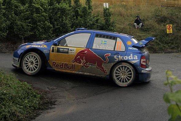 Mattias Ekström kennt sich in der WRC aus