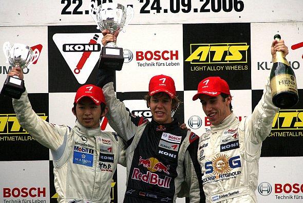 Sebastian Vettel fuhr 2006 für ASM in der Formel 3 Euroserie - Foto: F3 Euroseries