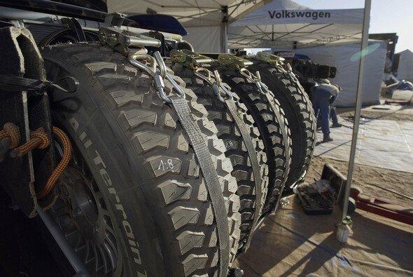 Die Reifen spielen eine entscheidende Rolle. - Foto: VW Motorsport