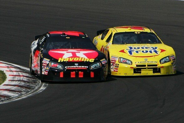 JPM kämpfte wie eh und je. - Foto: Getty Images/NASCAR