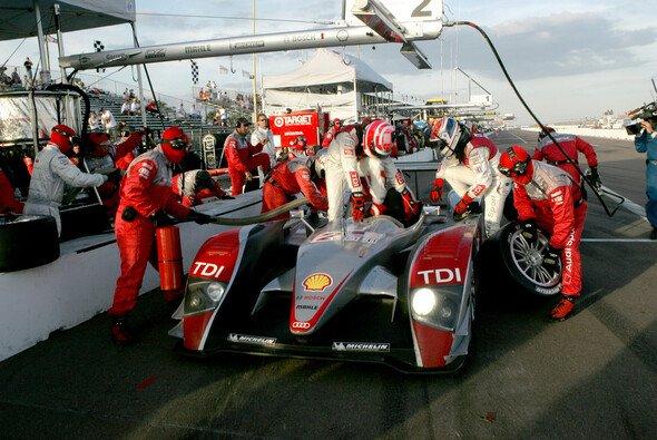 Audi liegt noch etwas zurück - Foto: Audi