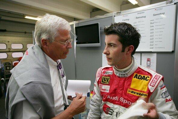 Mike Rockenfeller beim DTM-Debüt 2007 mit Arno Zensen - haben sich kaum verändert - Foto: Audi
