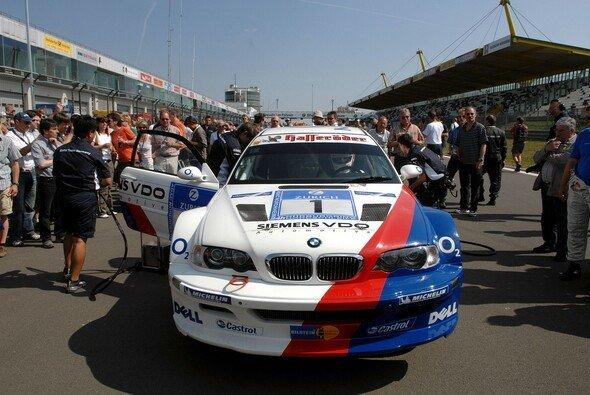 Ein echtes Geschoss: der BMW M3 GTR - Foto: BMW