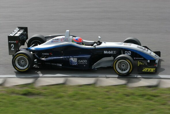 Romain Grosjean war nicht zu stoppen. - Foto: F3 Euro Series