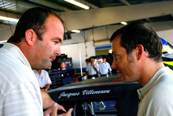 Für Jacques Villeneuve wird es ernst - Foto: Rusty Jarrett/Getty Images for NASCAR