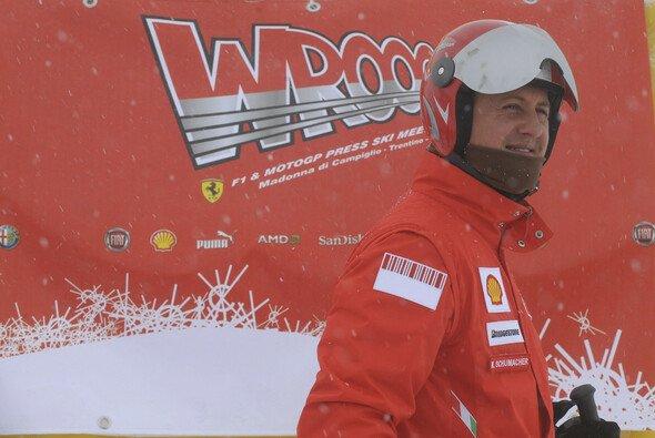 Michael Schumacher gilt als guter Skifahrer