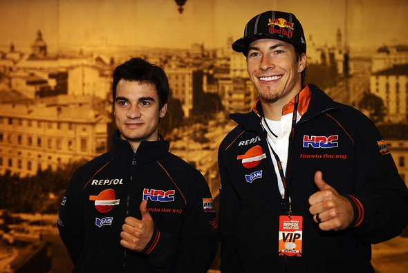 Dani Pedrosa und Nicky Hayden waren drei Jahre lang Teamkollegen bei Repsol-Honda - Foto: Repsol