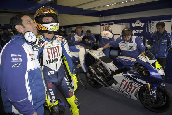 Bei Yamaha bildeten Rossi und Brivio ein fast unschlagbares Duo