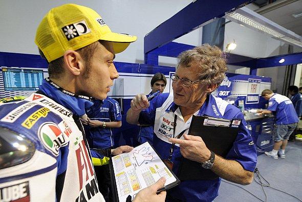 Valentino Rossi feierte alle sieben Titel in der Königsklasse mit Burgess - Foto: Fiat Yamaha
