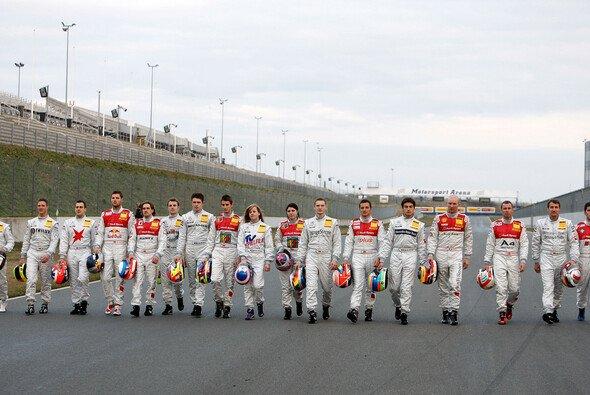 19 Fahrer sind 2008 dabei. - Foto: DTM