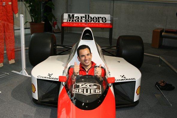 Auch der Spiderman hatte einmal F1-Angebote - aus Loyalität zum Penske-Team schlug er diese aus
