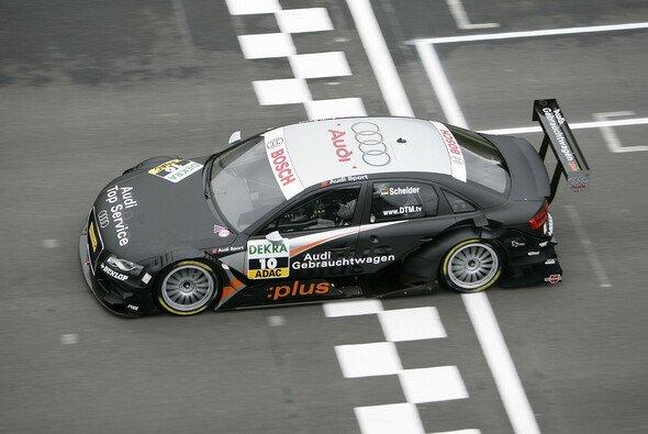 Bestzeit Nummer drei für Timo Scheider - Foto: Audi
