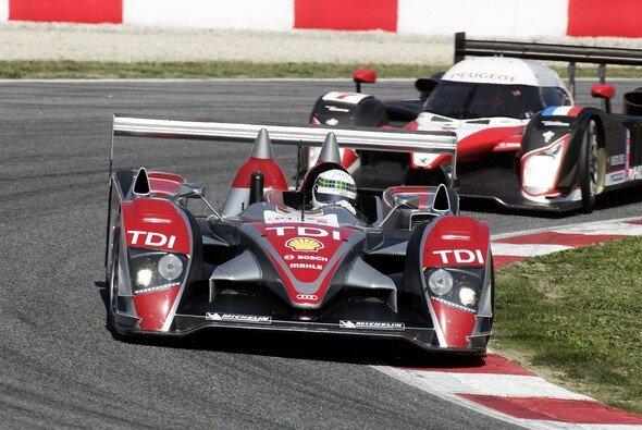 Auch in Spa kämpft Audi gegen Peugeot - Foto: Audi