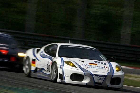 Pierres Ferrari lag gut - bis zum vorzeitigen Ende. - Foto: DPPI/LMS