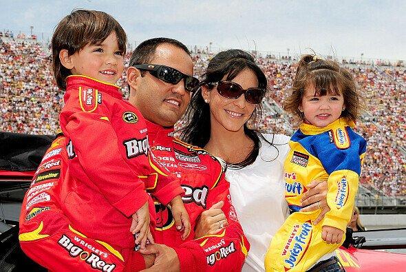 Sebastian Montoya war von Kindesbeinen an mit Vater Juan Pablo an der Rennstrecke - Foto: Rudty Jarrett/Getty Images for NASCAR
